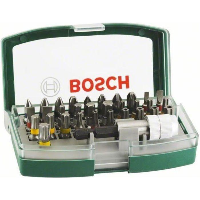 Set de 32 embouts de vissage Bosch à 7.9€ @ ManoMano (MTAmaison)