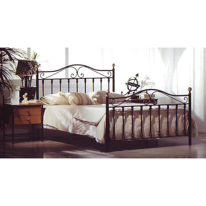 lit en fer forg mod le afrique achat vente. Black Bedroom Furniture Sets. Home Design Ideas