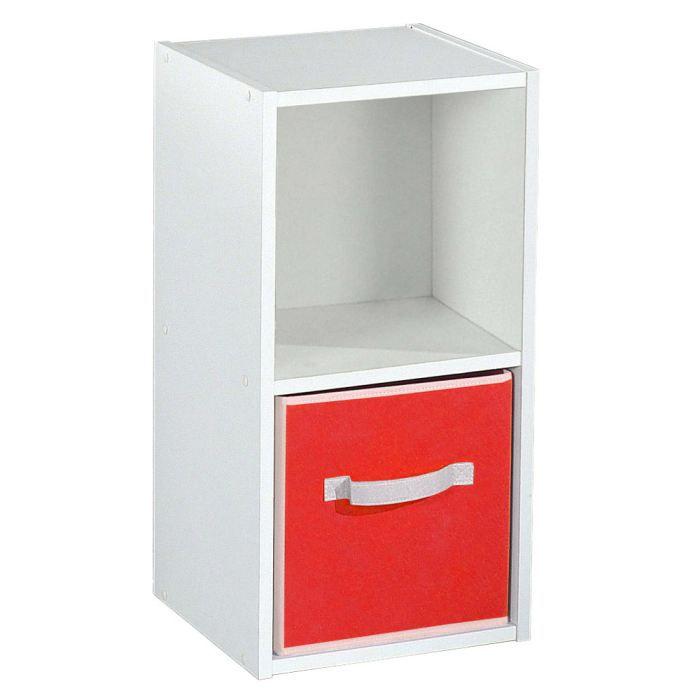 Rangement 2 cases bilto achat vente petit meuble for Meuble 2 cases