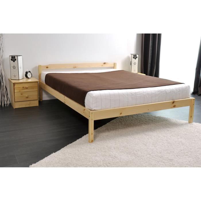 lit plateforme 140 x 190 maison design. Black Bedroom Furniture Sets. Home Design Ideas