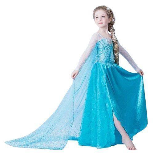 dguisement panoplie magnifique robe elas la reine des neiges taille fr