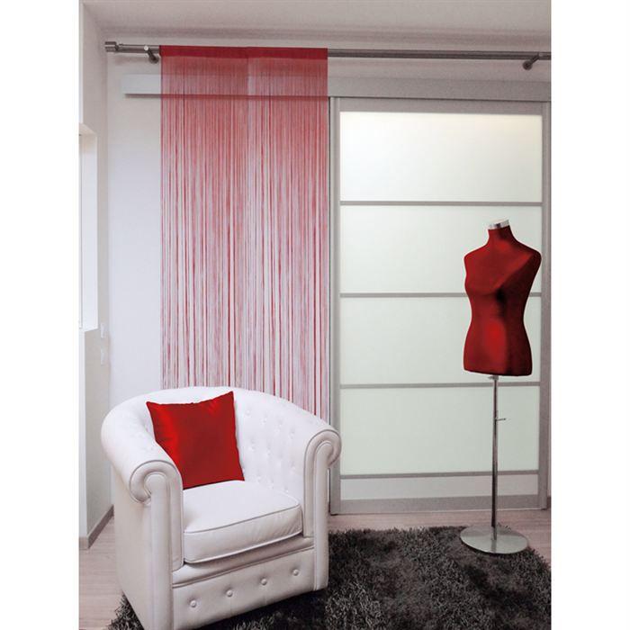 rideau a fils 60x90 cm lahore prune achat vente rideau 100 polyester cdiscount. Black Bedroom Furniture Sets. Home Design Ideas