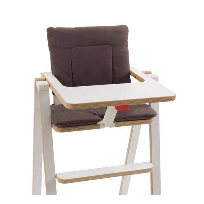 Coussin chaise haute les bons plans de micromonde - Coussin pour chaise haute en bois ...