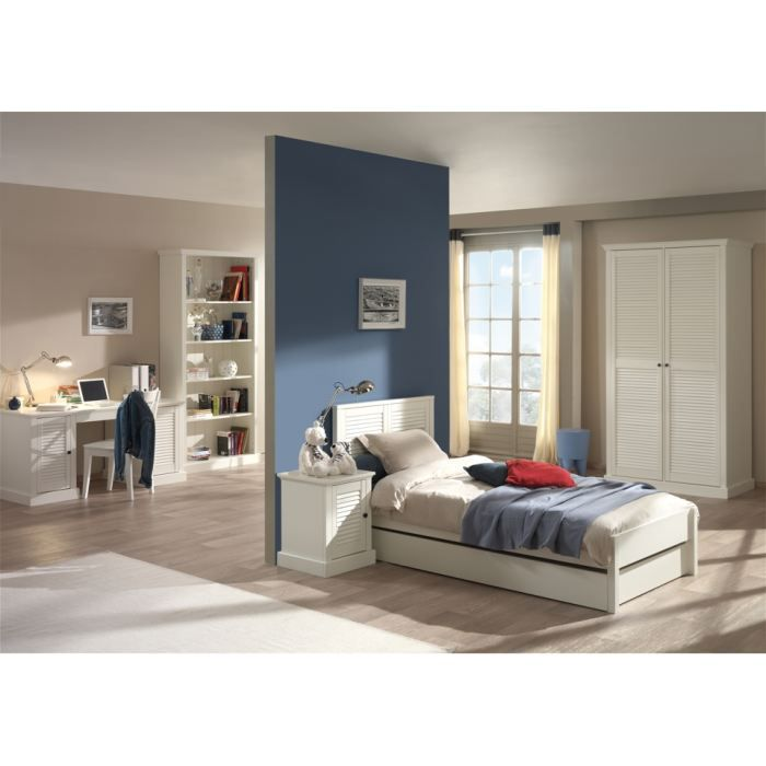 Chambre compl te swithome armoire 2 portes killy achat for Achat chambre complete