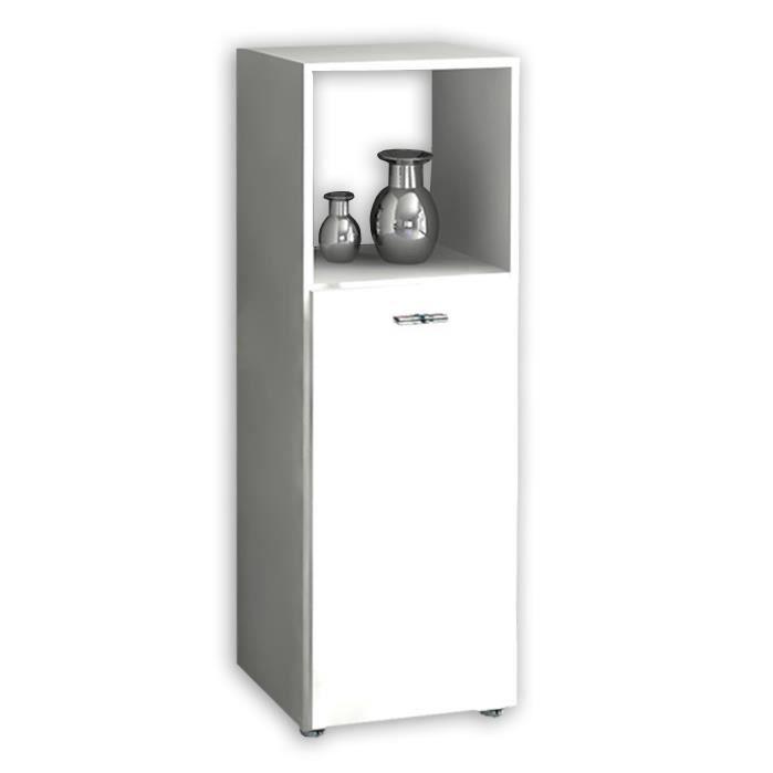 Armoir de salle de bain bones 3 tag re armoire haute for Armoire haute de salle de bain