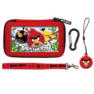 HOUSSE DE TRANSPORT Pochette de Transport Angry Bird Rouge 3DS