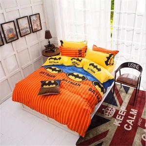 housse de couette batman achat vente housse de couette batman pas cher cdiscount. Black Bedroom Furniture Sets. Home Design Ideas