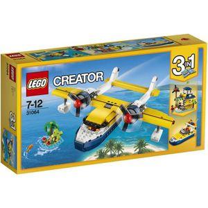 ASSEMBLAGE CONSTRUCTION LEGO® Creator 31064 Les Aventures sur L'Île