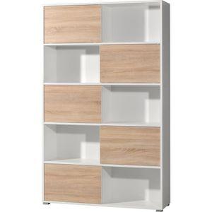 meuble de rangement avec porte coulissante achat vente meuble de rangement avec porte. Black Bedroom Furniture Sets. Home Design Ideas