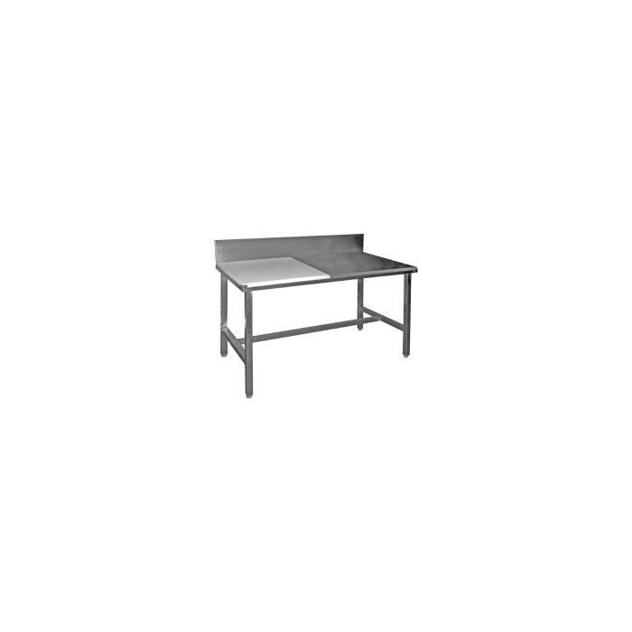 table de d coupe mixtes c te c te adoss es achat vente desserte billot table de d coupe. Black Bedroom Furniture Sets. Home Design Ideas