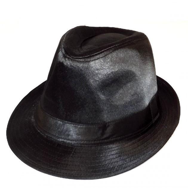 chapeau borsalino homme satin noir achat vente chapeau bob chapeau borsalino homme sat. Black Bedroom Furniture Sets. Home Design Ideas