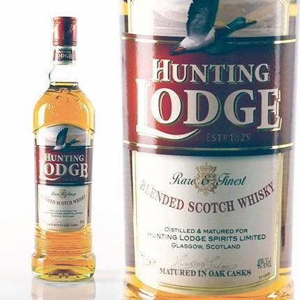 WHISKY-BOURBON-SCOTCH Whisky Hunting Lodge