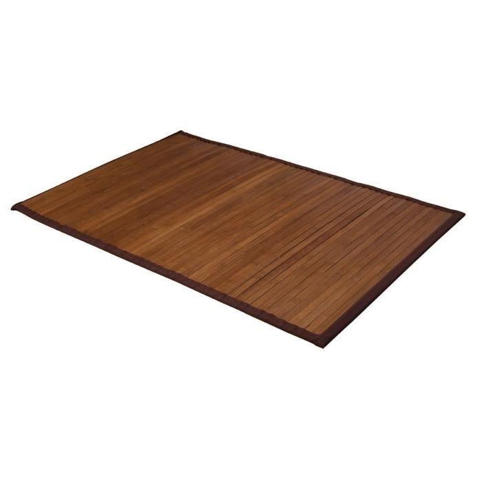 tapis de bains bambou fonce 60 x 90 cm achat vente tapis bain soldes d t d s le 24 juin. Black Bedroom Furniture Sets. Home Design Ideas