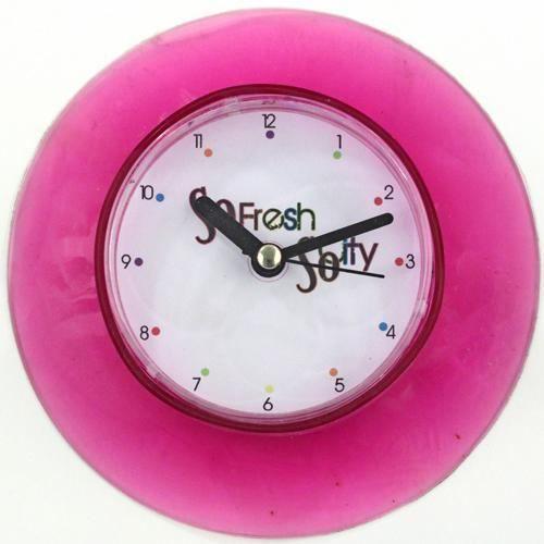 Horloge ventouse pour salle de bain so city achat for Horloge de salle de bain