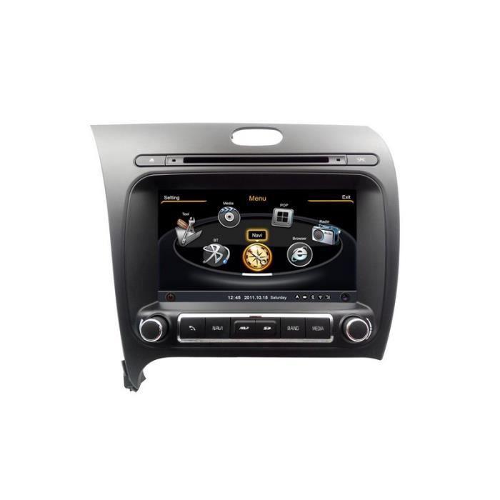 Autoradio gps bluetooth pour kia forte cerato k3 depuis 2013 achat vente autoradio