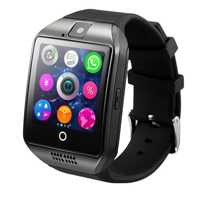 nouvelle montre smart watch android pour android phone podom tre nfc facebook twitter mp3 mp4 fm. Black Bedroom Furniture Sets. Home Design Ideas