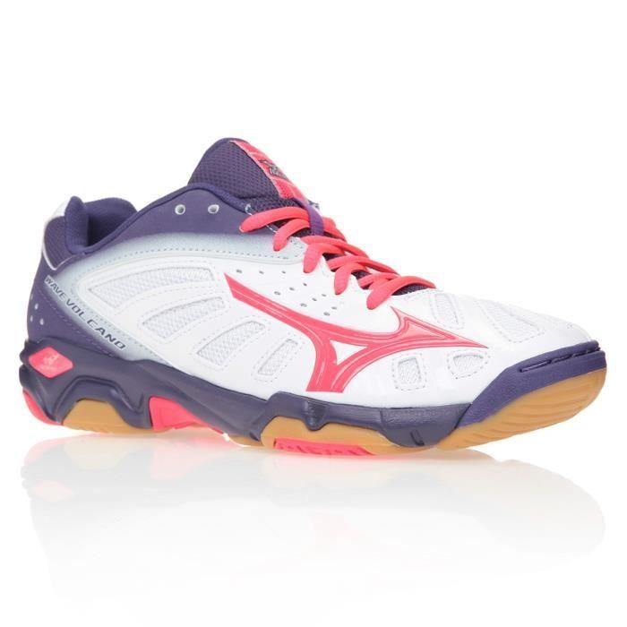 mizuno baskets chaussures de handball wave volcano femme rng prix pas cher cdiscount. Black Bedroom Furniture Sets. Home Design Ideas
