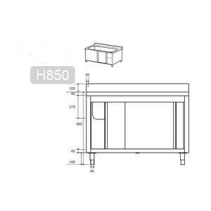 Meuble sous evier 100 cm avec evier achat vente meuble - Meuble sous evier 40 cm ...