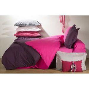 housse de couette couleur chocolat achat vente housse de couette couleur chocolat pas cher. Black Bedroom Furniture Sets. Home Design Ideas