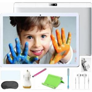 TABLETTE TACTILE Teeno Tablette Tactile HD 10.1'' Blanc + 8 Accesso