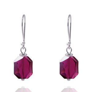 Boucles d 39 oreilles cristal achat vente pas cher - Boucle d oreille swarovski pas cher ...