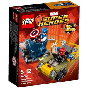 ASSEMBLAGE CONSTRUCTION LEGO® Super Heroes - Marvel 76065 Mighty Micros: C