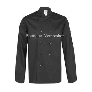 veste de cuisine noir - achat / vente veste de cuisine noir pas ... - Veste De Cuisine Noir Pas Cher