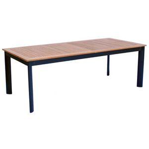 Tables de jardin aluminium extensibles achat vente tables de jardin aluminium extensibles Table de jardin aluminium en solde