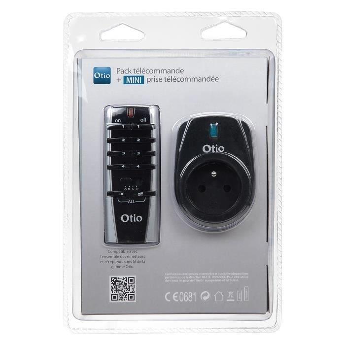 Otio pack t l commande prise t l command e achat for Eclairage telecommande interieur