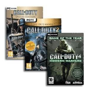 JEUX PC Compil Call of Duty