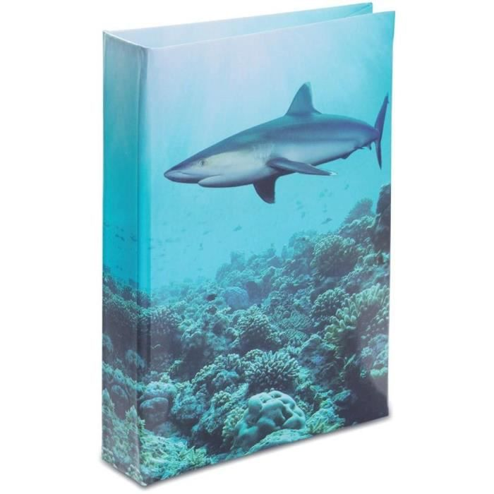 Journal intime requin d cor mer achat vente journal for Requin decoration