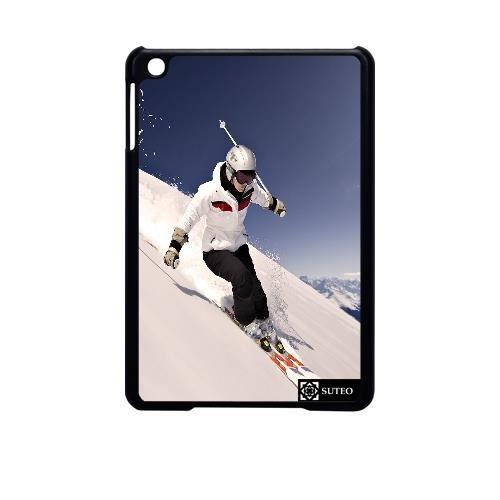 coque ipad mini femme faisant du ski sur les alpes ref. Black Bedroom Furniture Sets. Home Design Ideas