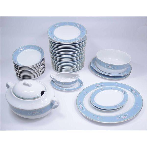 Service de table vaisselle en porcelaine de bav achat vente assiette - Vaisselle en porcelaine ...