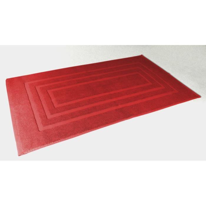 tapis de bain 50 x 85 cm vitamine rouge achat vente tapis de bain cdisc. Black Bedroom Furniture Sets. Home Design Ideas