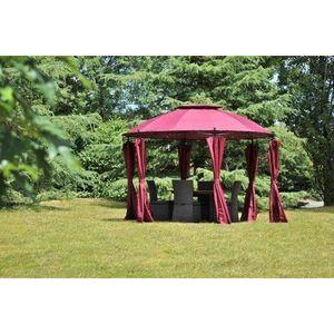 tonnelle ronde de jardin achat vente tonnelle ronde de jardin pas cher cdiscount. Black Bedroom Furniture Sets. Home Design Ideas