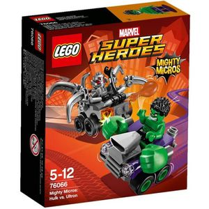 ASSEMBLAGE CONSTRUCTION LEGO® Super Heroes - Marvel 76066 Mighty Micros :