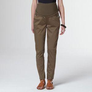 PANTALON Pantalon de grossesse en coton-élasthanne MATER...