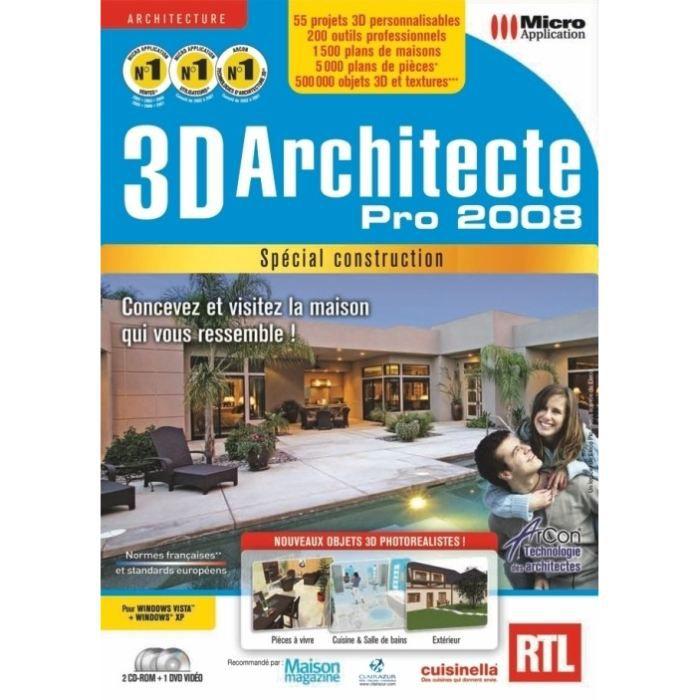 Micro application 3d architecte pro cadillac for 3d architecte pro