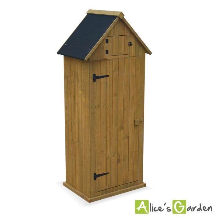 petit abri de jardin andelys en bois coloris bois naturel. Black Bedroom Furniture Sets. Home Design Ideas