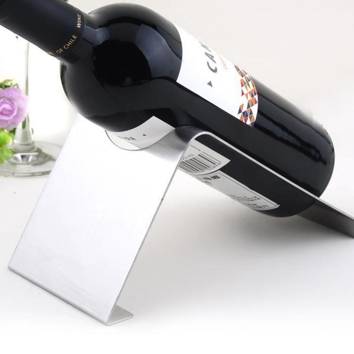 porte bouteille de vin porte bouteille inox mode 4 achat vente coffret cadeau vin porte. Black Bedroom Furniture Sets. Home Design Ideas