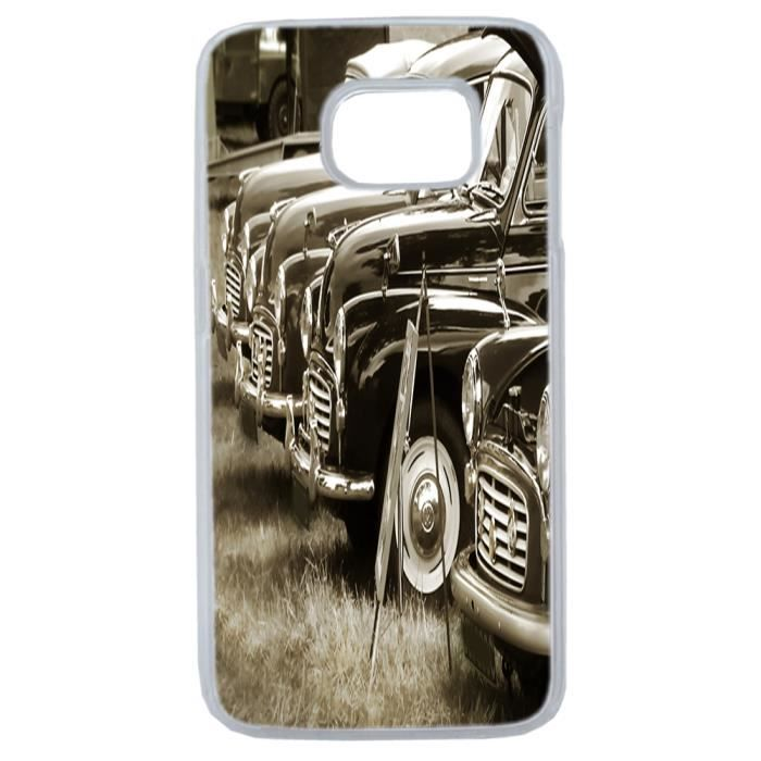 coque voiture collection ancienne galaxy s6 edge achat vente coque originale by lapinette. Black Bedroom Furniture Sets. Home Design Ideas