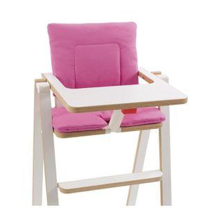 SUPAFLAT Coussin de chaise haute - princess pink