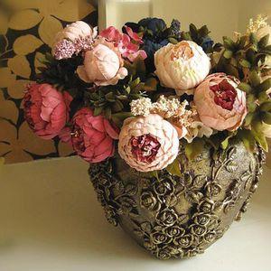 Fleur artificielle pivoine achat vente fleur for Bouquet de fleurs pas cher livraison gratuite