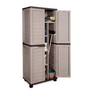 Coffres de rangement exterieur pvc achat vente coffres for Armoire pvc exterieur