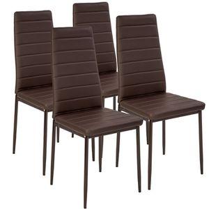 chaises tres confortable marron - achat / vente chaises tres ... - Chaise De Cuisine Confortable