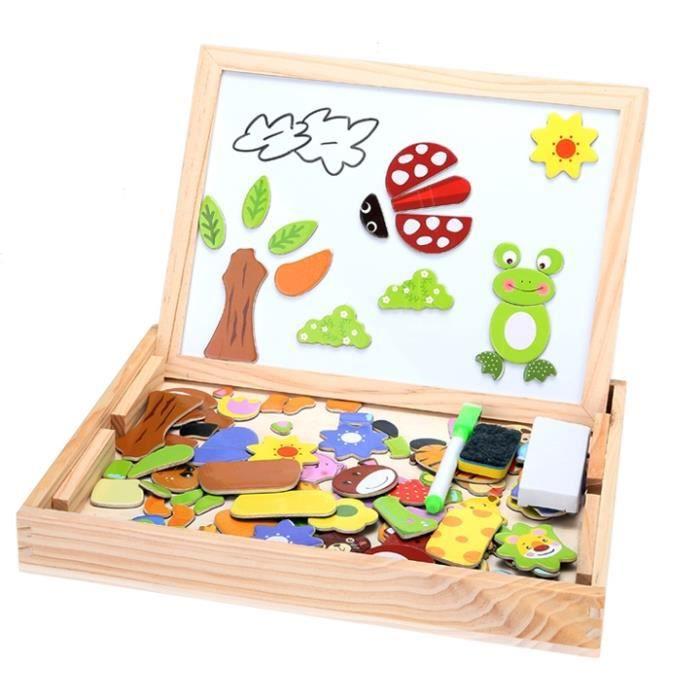 ardoise magn 233 tique en bois jouet puzzle magnets bois kits de montage du mod 232 le achat vente
