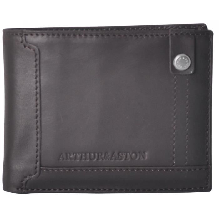 Portefeuille porte cartes cuir homme arthur aston noir achat vente portefeuille - Portefeuille porte carte homme ...