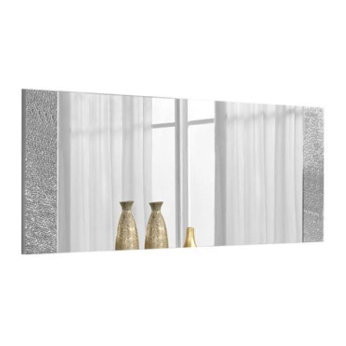 Miroir rectangulaire encadrement d cor strass achat for Decoration maison strass