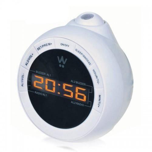 Radio r veil avec projection de l 39 heure projection ball - Reveil avec projection de l heure au plafond ...