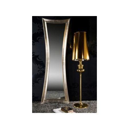 Miroir design electra gold achat vente miroir bois for Vente miroir design